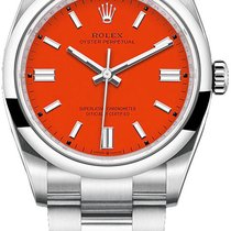 Rolex Oyster Perpetual 36 Steel 36mm Red United States of America, New York, Airmont