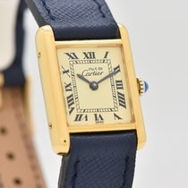 Cartier Tank (submodel) Gold/Steel 20mm Roman numerals United States of America, California, Beverly Hills