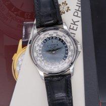 Patek Philippe World Time Platino 37mm Blu Italia, Perugia