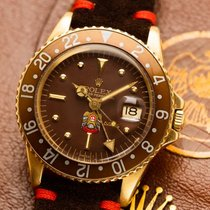 Rolex 1675 Yellow gold 1973 GMT-Master 40mm pre-owned