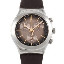 Swatch pre-owned Quartz 40mm Brown