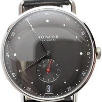 NOMOS Metro 38 Datum Steel 38.5mm Black Arabic numerals United States of America, Florida