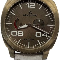 Anonimo pre-owned Automatic 43.5mm Bronze Sapphire crystal 10 ATM