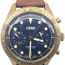 Oris Carl Brashear Bronze 43mm Blue United States of America, Florida
