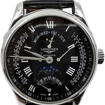 Longines Master Collection Steel 44mm Black Roman numerals United States of America, Florida
