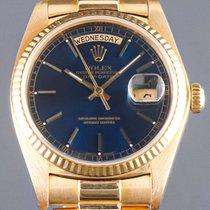 Rolex Day-Date 36 Gelbgold 36mm Blau Keine Ziffern Deutschland, Essen