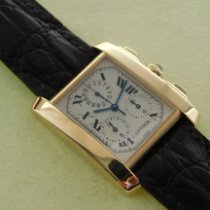 Cartier 1830 Yellow gold 2006 Tank Française 29mm pre-owned