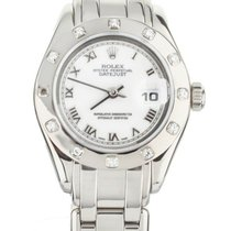 Rolex Pearlmaster White gold 29mm White