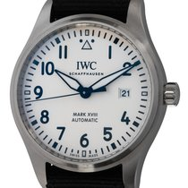 IWC Pilot Mark Steel 40mm Silver Arabic numerals United States of America, Texas, Austin