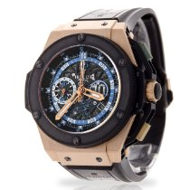 Hublot King Power Rose gold 48mm Transparent