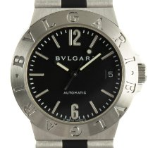 Bulgari Diagono Acero 35mm Negro