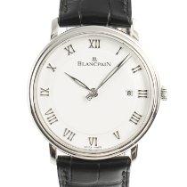 Blancpain Villeret Ultraflach Stahl 40mm Weiß