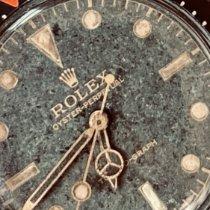 Rolex Staal 36mm Zwart Geen cijfers Nederland, Rotterdam