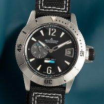 Jaeger-LeCoultre Titan Automatik Schwarz 46mm gebraucht Master Compressor Diving GMT