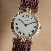 Cartier Trinity Gelbgold 24.5mm Weiß Deutschland, Chemnitz