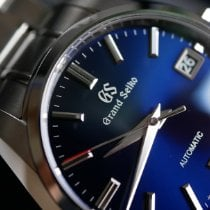 Seiko Grand Seiko Steel 40mm Blue
