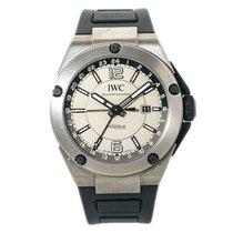 IWC Ingenieur Dual Time Titanium 45mm Grey Arabic numerals United States of America, New York, New York