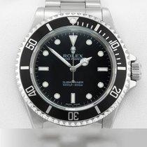 Rolex Submariner (No Date) Сталь 40mm Черный