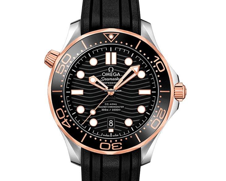 Omega Seamaster Diver 300 M 210.22.42.20.01.002 2021 nuevo
