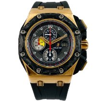 Audemars Piguet Royal Oak Offshore Grand Prix Oro rosa 44mm Negro Sin cifras