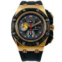 Audemars Piguet Royal Oak Offshore Grand Prix Rose gold 44mm Black No numerals