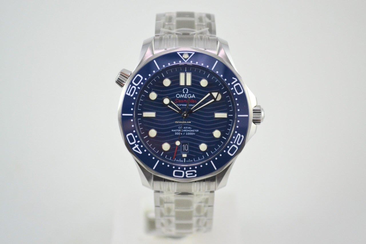 Omega Seamaster Diver 300 M 210.30.42.20.03.001 2021 nieuw