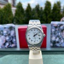 Rolex Datejust Oysterquartz Acero 36mm Blanco Romanos