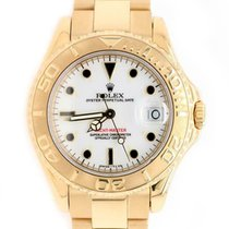 Rolex Yellow gold Automatic pre-owned Yacht-Master