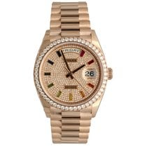 Rolex Rose gold 36mm Automatic 128345RBR new