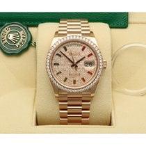 Rolex Day-Date 36 Oro rosa 36mm Rosa Sin cifras