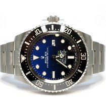 Rolex Sea-Dweller Deepsea Steel 44mm Blue No numerals United Kingdom, Essex
