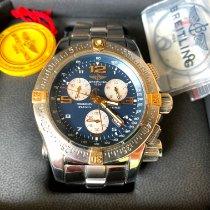 Breitling Emergency Gold/Stahl 45mm Blau Arabisch Deutschland, Borchen
