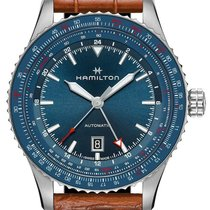 Hamilton Khaki Aviation Steel 44mm Blue