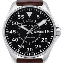 Hamilton Khaki Pilot Day Date Steel 46mm Black