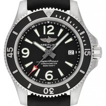 Breitling Steel Automatic Black 42mm new Superocean 42