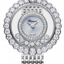 Chopard 204180-1201 Bílé zlato 2021 Happy Diamonds 30.3mm nové