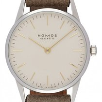 NOMOS Steel 32.8mm Manual winding 319 new