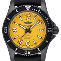 Breitling Automatic Yellow 46mm new Superocean