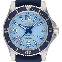 Breitling Steel Automatic Blue 36mm new Superocean