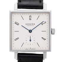 NOMOS Tetra neu 2021 Handaufzug Uhr mit Original-Box und Original-Papieren 406