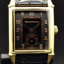 Girard Perregaux Or jaune Remontage automatique Noir Arabes occasion Vintage 1945
