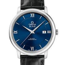Omega De Ville Prestige Acero 39.5mm Azul Romanos España