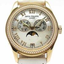 Patek Philippe Annual Calendar Rosa guld 37mm Hvid