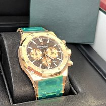 Audemars Piguet Royal Oak Chronograph Rose gold 41mm Brown No numerals United States of America, New Jersey, Totowa