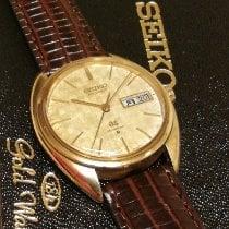 Seiko Yellow gold Automatic Gold No numerals 36mm pre-owned Grand Seiko