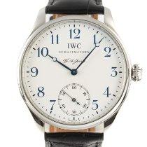 IWC Portuguese Hand-Wound Steel 43mm White