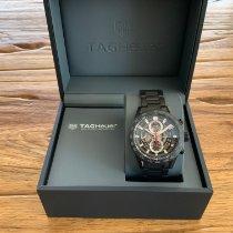 TAG Heuer Carrera Calibre HEUER 01 neu 2019 Automatik Chronograph Uhr mit Original-Box und Original-Papieren CAR2090.BH0729