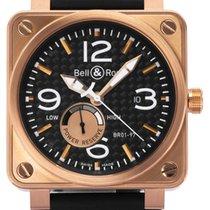 Bell & Ross BR 01-97 Réserve de Marche Rose gold 46mm