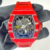 Richard Mille RM 035 RM35-02 Mycket bra Kol 49.94mm Automatisk