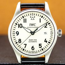 IWC Pilot Mark Steel 40mm Arabic numerals United States of America, Massachusetts, Boston